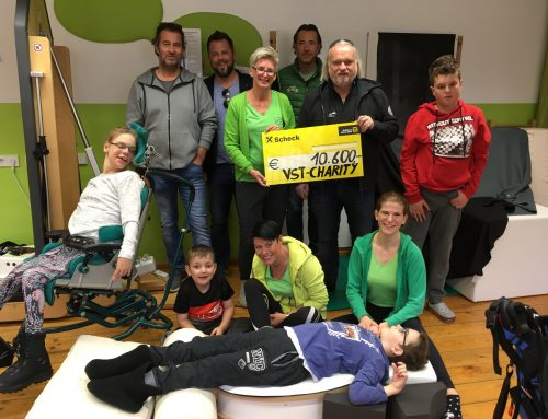 """VST Kitzbühel unterstützt den Verein """"Schritt für Schritt"""""""