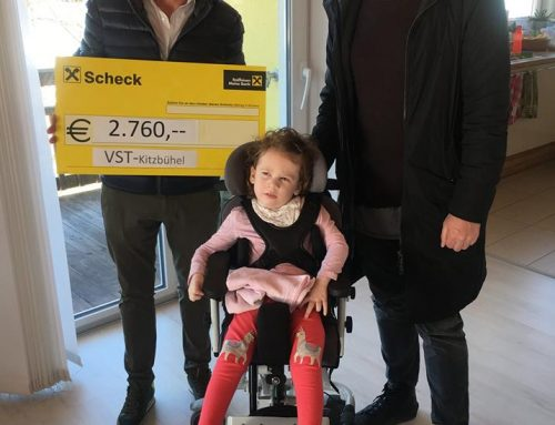 VST Kitzbühel hilft der kleinen Theresa