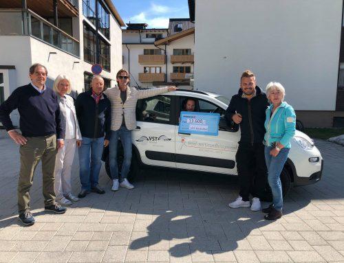 VST Kitzbühel spendet € 13.600,- für Sozialsprengel Kirchberg