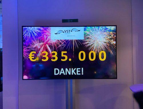 Erneute VST Charity Sensation im Jahr 2020 – EUR 335.000 Spendengelder